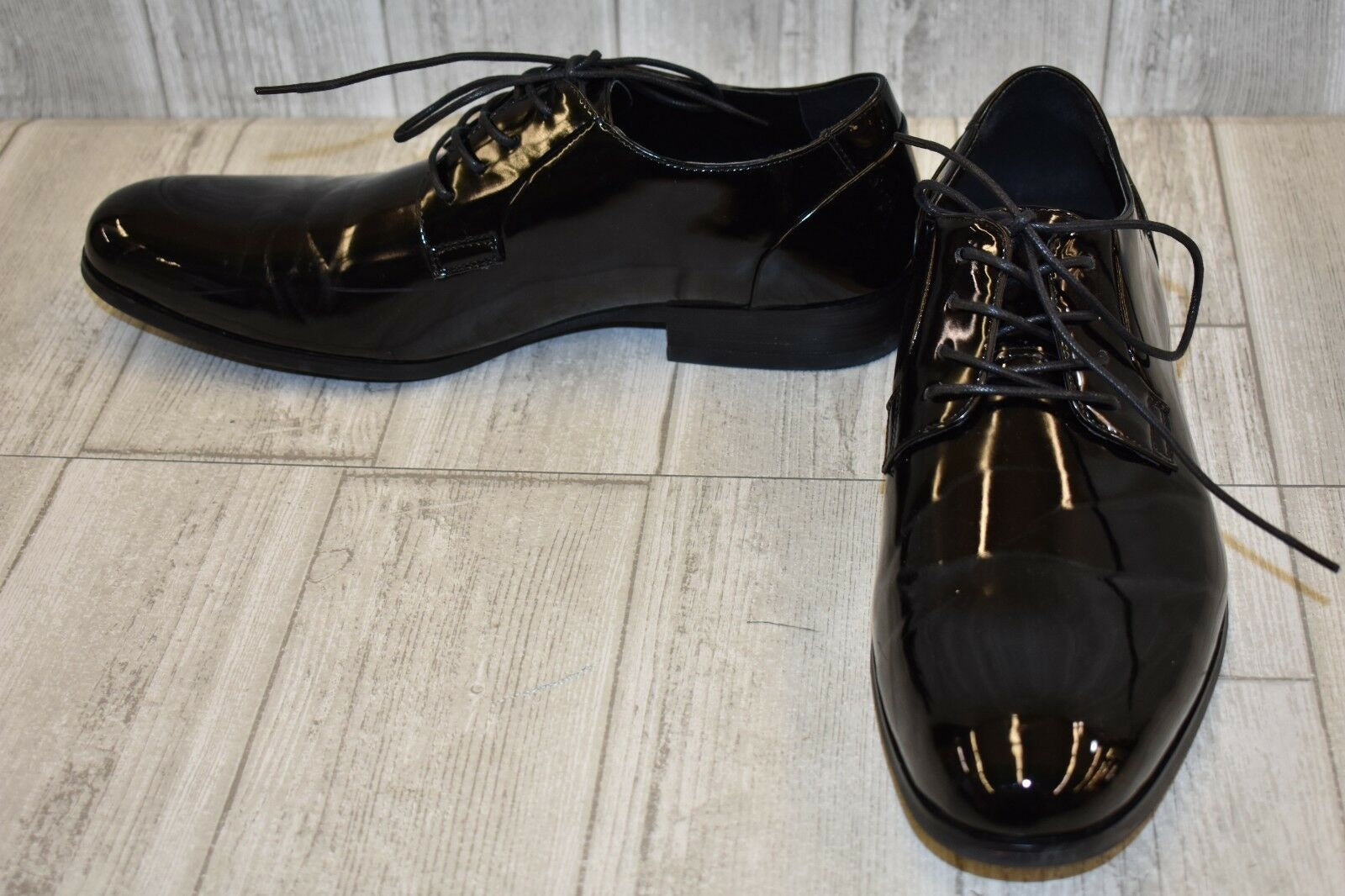 Kenneth Cole Unlisted Heel The World Oxfords - Men's Size 10 M -Black