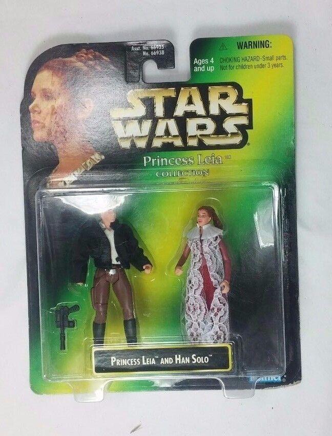 Star - wars - prinzessin leia und han solo, 1997  prinzessin leia kenner