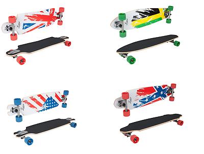 HUDORA Long Board Skateboard Surfboard komplett Longboard Modell auswählbar