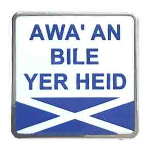 Details about Scottish Slang Saying