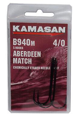 Kamasan b940m aberdeen match hooks size 4//0 .