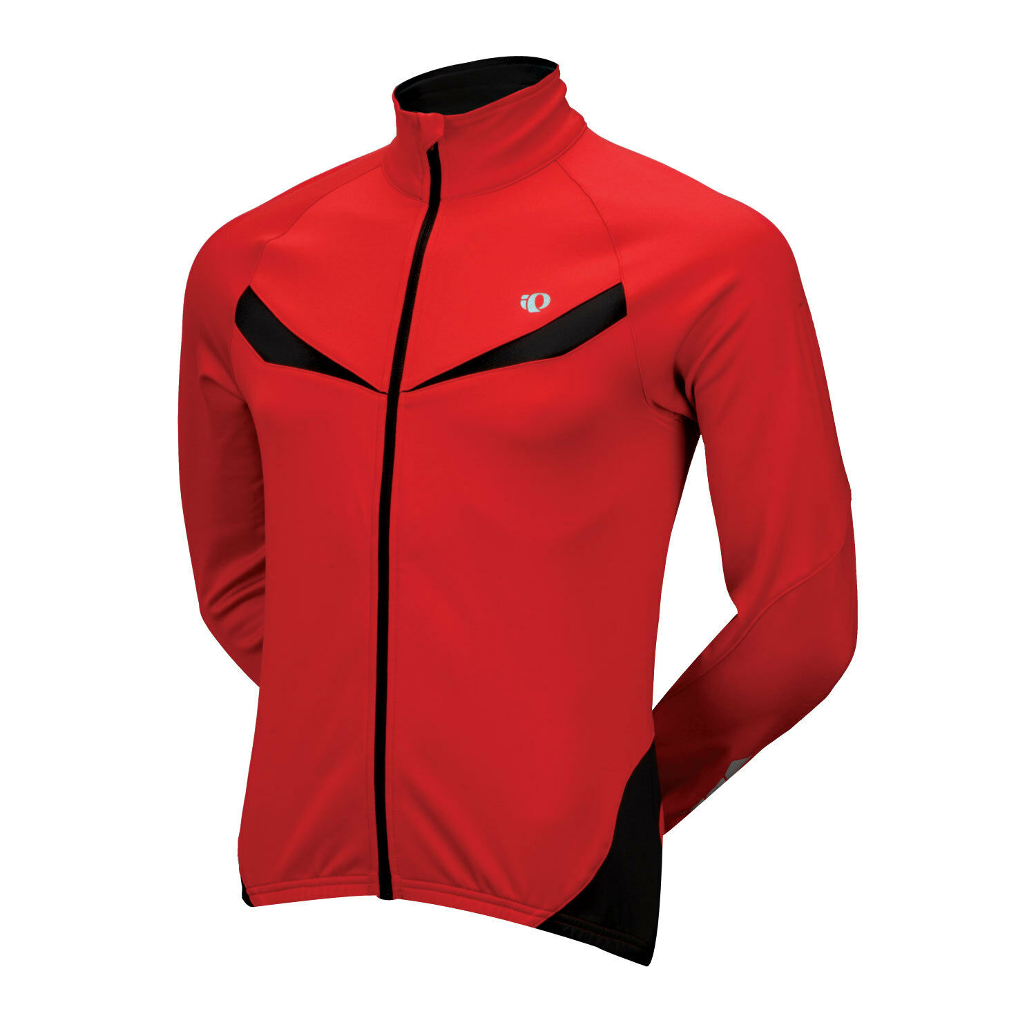 Giacca winter Bici Pearl Izumi Elite Thermal LS Jersey Giacchetto bike rouge