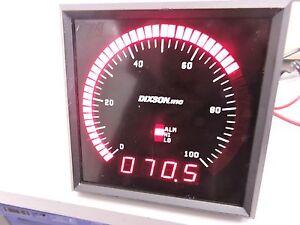 Dixson-BEW51A-Series-Bar-Graph-amp-DVM-Industrial-Panel-Display-0-100