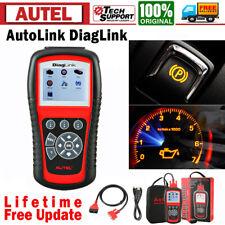 Autel Scanner Diaglink Md802 Car Diagnostic Tool Obd2 Abs Srs Epb Oil Reset Tool