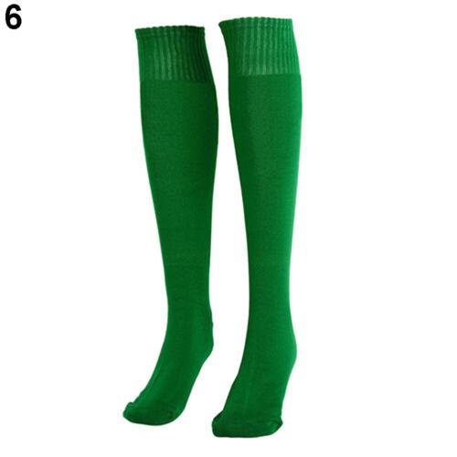 Men Over Knee High Socks Baseball Hockey Rugby Football Soccer Sport Long Socks