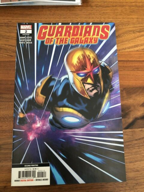 Guardians of the Galaxy #2 2nd print Marvel Comics Donny Cates VFNM