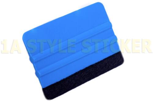 Rakel 3m P.A.-1 mit Filz Rakelfilz 3m Verklebehilfe Folien Filzkante Rakel blau