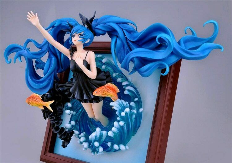 Hatsune Hatsune Hatsune Miku deep sea Anime Collectible Action Figure PVC toys for 23cm ad80e0