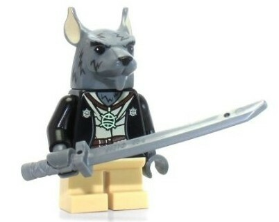 Lego Minifigures, Ninja Turtles  tnt051 Splinter (NEW)…