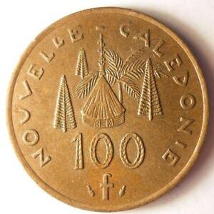 1991-NEW-CALEDONIA-100-FRANCS-Collectible-Coin-BARGAIN-BIN-84
