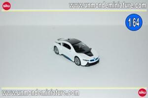 BMW-i8-White-amp-Black-SIKU-SI-1458-Echelle-1-64