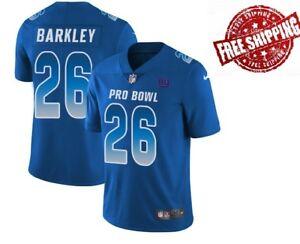 official photos f6266 7fd82 Detalles acerca de Para hombres #26 saquon Barkley New York Giants NFC 2019  Pro Bowl Jersey Royal- mostrar título original