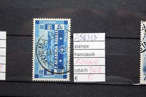 FRANCOBOLLI-ITALIA-REGNO-USATI-N-302-A56313
