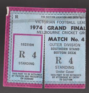1974-Grand-Final-Used-Ticket-Richmond-vs-North-Melbourne-Tigers-won