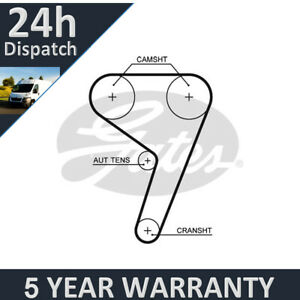 Gates-Timing-Belt-Fits-Ford-Focus-Fiesta-Fusion-5-Year-Warranty-G2798