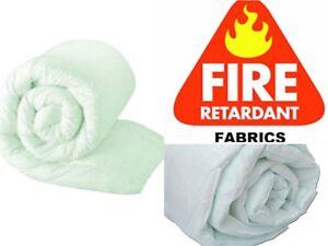 Fire Retardant Filling Twin Pack NEW! 2 Non Allergenic Hollow Fibre Pillows