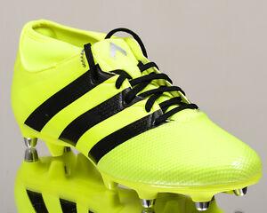 adidas ACE 16.3 Primemesh SG prime mesh men soccer cleats football volt BA8422