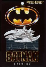 Batman 1989 Tim Burton Movie Batwing Metal Earth 3D Model Kit FASCINATIONS