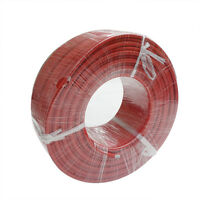2 Awg 10' Welding Cable Car Battery Rv Leads Household Usa Gauge Copper Red