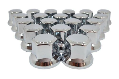 60 x 32mm Cromo Plástico Tapones Tapas Cubre para Tuercas de Rueda para DAF D75