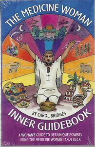 THE-MEDICINE-WOMAN-INNER-TAROT-COMPANION-GUIDE-BOOK-by-Carol-Bridges-2012-NEW