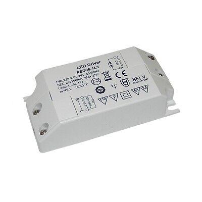 LED Vorschaltgerät für 3-6x 1W HighPower Leds, Konstantstromquelle Treiber Trafo