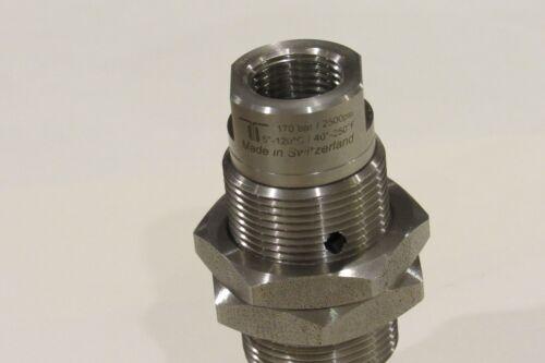 "Ceramic INOX DXG 3//8/"" NPT-F NEW Mosmatic 37.168 Swivel with bulkhead fitting"