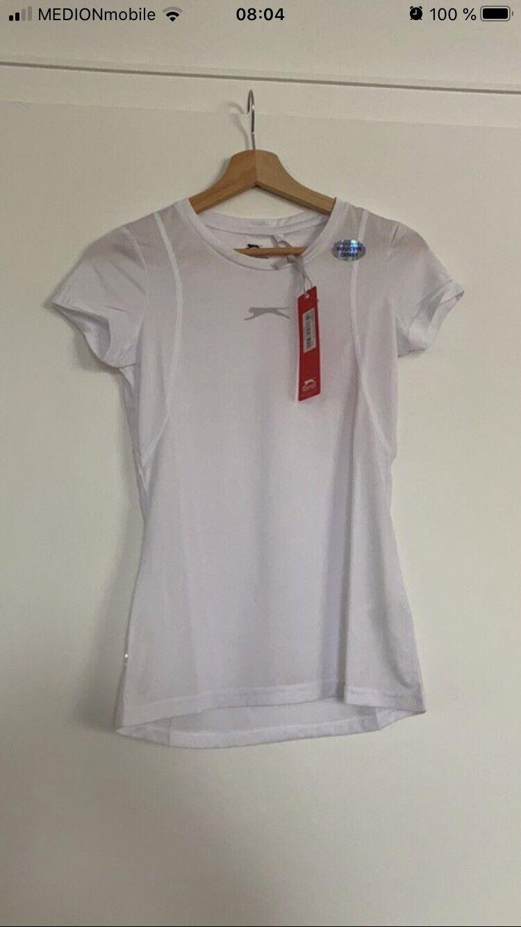 Slazenger Sports Fitness Shirt T-Shirt White Gr. S/M