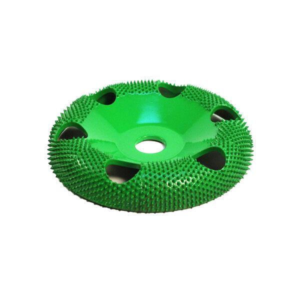 Ex-Coarse Grit 5//8 Bore 4 Disc Wheel W// Holes Flat Face