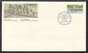 CANADA-FIRST-DAY-COVER-968-30c-MULTI-1982-ROYAL-CANADIAN-HENLEY-REGATTA