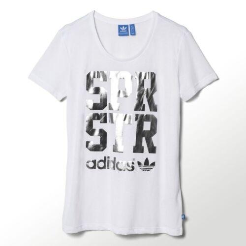 Star blanca Adidas Sport 888170998804 Xs plateada mujer Camiseta Nwt para S19552 UWSXxX