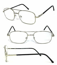 2d9470568134c item 3 Premium Quality Metal Frame Aviator Clear Lens Reading Glasses  Spring Hinges -Premium Quality Metal Frame Aviator Clear Lens Reading  Glasses Spring ...