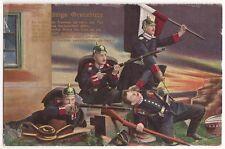 VINTAGE 1914 GERMAN POSTCARD DES KÖNIGS GRENADIERE # 2