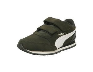 Puma St Sd Camo Sneakers Foam Runner Soft Adjustable Shoes V2 Green Details About Strap Kids O8n0wPk