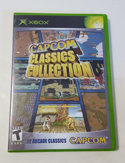 CAPCOM CLASSICS Collection 22 Arcade Classics - Xbox Video Game CIB Complete