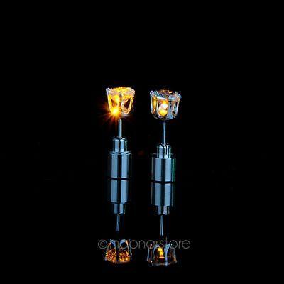 MODA luz Led parpadeante espárragos pendientes accesorios para fiesta/ Festival