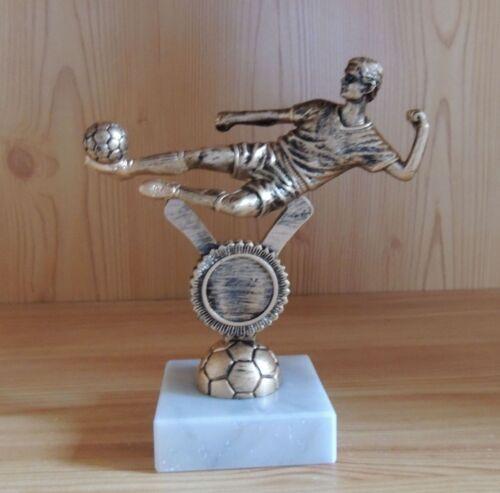 10 trophées personnages FOOTBALL 15 CM avec marbre #fb 182 (vainqueur de la jeunesse Kicker tournoi)