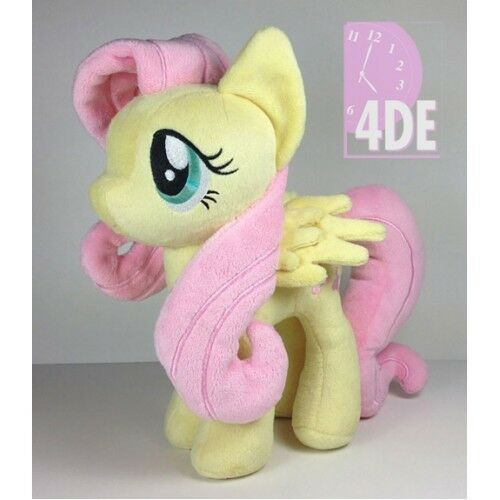 0ad8fe3be98 Fluttershy Plush 11 Genuine 4th Dimension My Little Pony Hasbro for sale  online