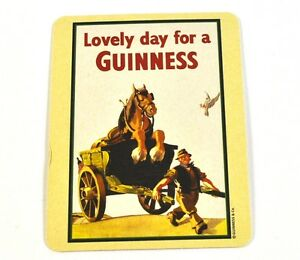 Guinness-Beer-Beer-Coasters-Coasters-Coaster-Motif-Horse-IN-Wagons
