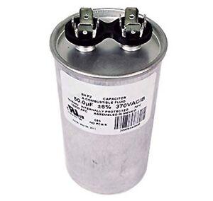 Motor run ac capacitor 50uf 370v 28p255 ebay for Motor start capacitor test