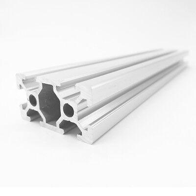 Aluminum T-slot extruded framing profile 30x30 Metric Series Length Choose