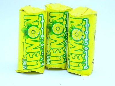 3 lemon mint charcoals sealed hookah shisha nargila tabs roll high quality coal