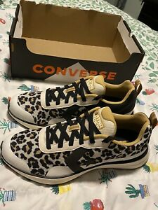 Men-Converse-Star-Series-Running-Shoes-Leopard-Print-Sneakers-SIZE-9-5-New