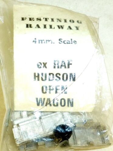 ex RAF Hudson Open Wagon 4mm Scale Festiniog Railway 4mm KIT å
