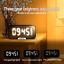 thumbnail 2 - Bosina Altavoz Portátil LED Inalámbrico Speaker con Bluetooth USB/AUX/FM Radio