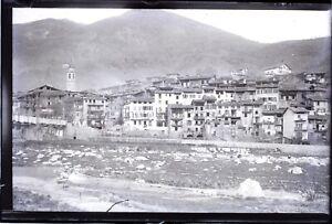 FRANCE-Alpes-Maritimes-a-identifier-c1900-NEGATIF-Photo-Plaque-Verre-VR7L3n1