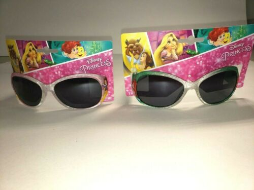 Kids Disney Sunglasses Princesses Lot of 2 prs Belle and Ariel Set  NEW!
