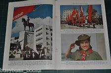 1945 TURKEY magazine article, Turkish Republic, natives history etc color photos