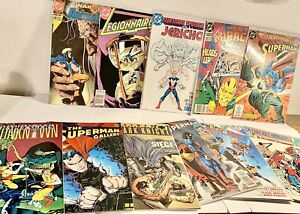 Vintage-DC-Villians-Superman-Flash-Justice-League-24-Comic-Book-Lot-Comics