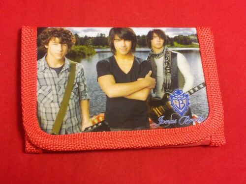 4 Colors//Styles Jonas Brothers Kid/'s Small Tri-fold Wallet Child//Tween